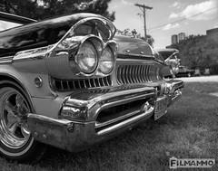 Mercury Grill (FilmAmmo) Tags: paulhargett filmammo salinaks carshow mediumformat pentax6x7 film 120 ilfordpanf