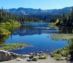 Twin Lakes, Lowest of Mammoth Lakes, CA 2016 (inkknife_2000 (7 million views +)) Tags: mammothlakes twinlakes usa landscape sky stillwater california sierranevadamountains alpinelakes waterreflection crystalcrag dgrahamphoto