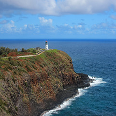 Kilauea Light (russ david) Tags: kilauea light point national wildlife refuge peninsula kauai hawaii hi september 2016 lighthouse