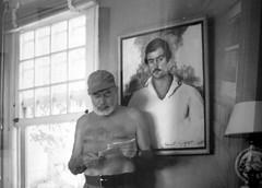 Old and young (Ken-Zan) Tags: ernest hemingway painting kenzan ljunghav