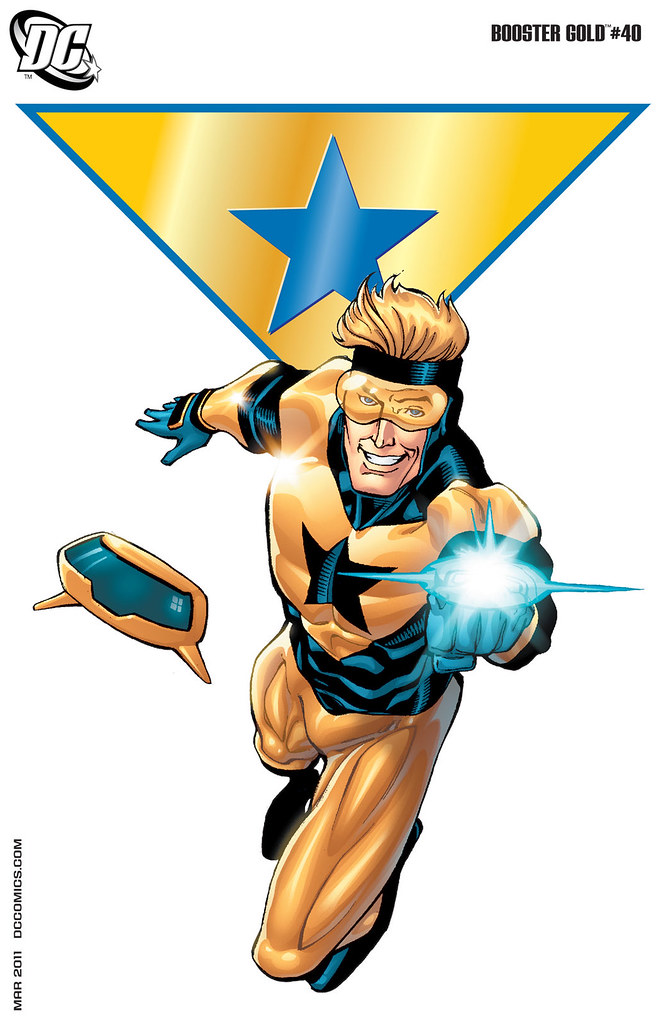 Booster Gold (2007) #40