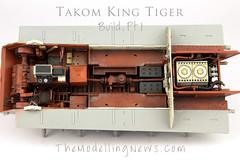 King Tiger Build (Andy R Moore) Tags: themodellingnews kingtiger takom 135