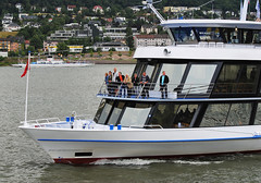 On the River Rhine (Infinity & Beyond Photography) Tags: river rhine rhein boat boats ferry ferries germany