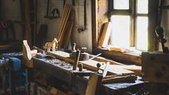 After work (Piotr Ś.) Tags: kielce village wieś skansen tokarnia muzeum dom chata old okno window work