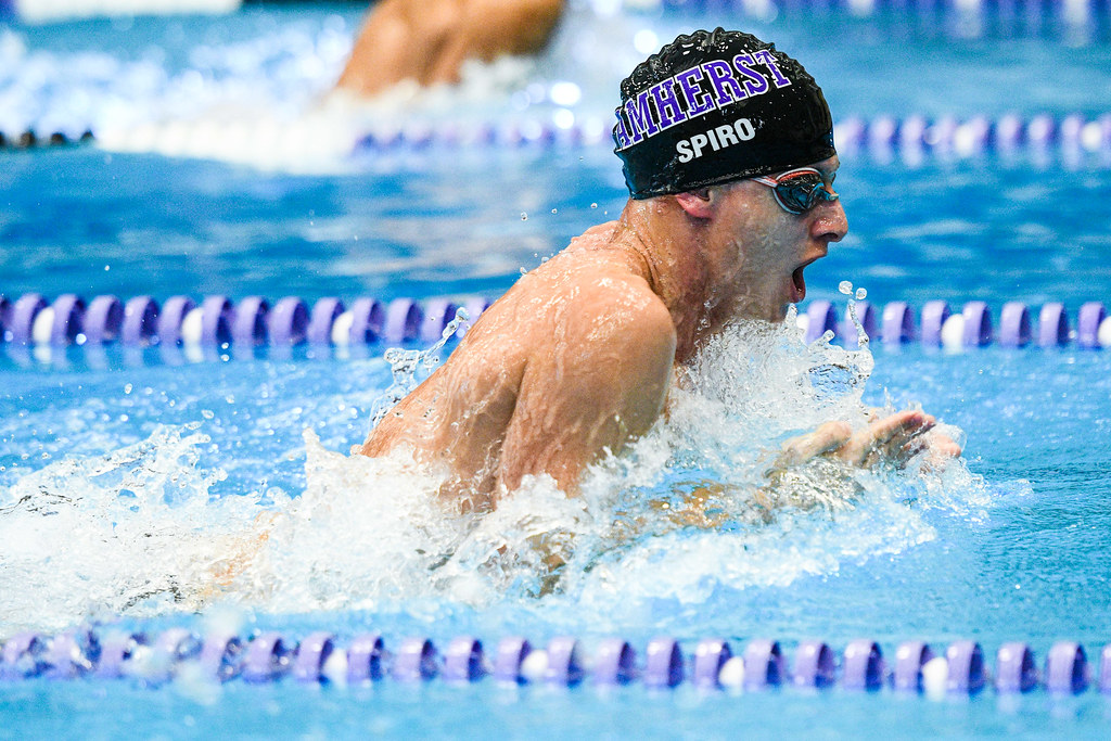 amherst college swimming Amherst college swimmer kendra stern's time in the 200-yard freestyle at last  year's ncaa championships was good enough for 8th place in.