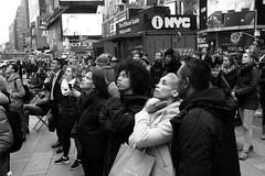 12 Noon Inauguaration Day -- Times Square (JohnKCrossman) Tags: despair inauguration shock timessquare trump