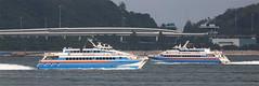 """Austal Catamaran, """"HAI YANG"""" / """"HAI CHANG"""", Hong Kong (Daryl Chapman Photography) Tags: ferry canon boat is chinese vessel 99 ii catamaran 5d 118 mkiii x2 70200l haiyang austal haichang zhuhaijuizhouportshippingcompany"""