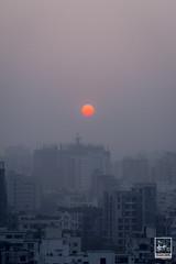 DAYBREAK'S YAWN (Imaginoor Photography) Tags: city urban lightpainting skyline sunrise dawn construction halo dhaka beacon bangladesh banani shehab hossain imaginoorphotography