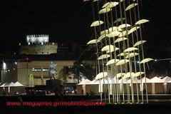 THESSALONIKI/GREECE (makridis pavlos) Tags: white tower greece thessaloniki umbrellas zogolopoulos ελλαδα παραλια θεσσαλονικη μεγασ νεα αλεξανδροσ ζογγολοπουλοσ ομπρελλεσ