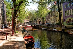 Amsterdam, Groenburgwal (Nik Morris (van Leiden)) Tags: netherlands amsterdam canal nederland kanal mokum hoan groenburgwal