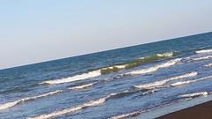 Sea (lilac-girl90) Tags: camera blue sea summer sky love beauty photography spring friend peace gulf photos iraq baghdad oman صور جمال بحر عُمان عراق بغداد خليج