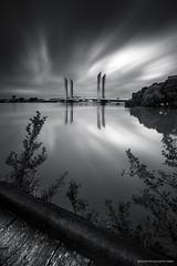 Pont Chaban Delmas  Bordeaux (jubu photographie) Tags: bridge light sun clouds sunrise canon landscapes bordeaux lee pont matin lightroom 1635 sexe leefilter leebigstopper leefilterbigstopper