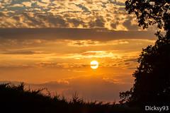 Coucher de soleil (Dicksy93) Tags: img4146 coucher de soleil sunset saintprojet bouriane lot 46 midipyrénées france dicksy93 tramonto sonnenuntergang zonsondergang sun sol somme ciel sky cielo nuage cloud nubes nuvoles arbre tree soir evening sera noche ombre canon eos 7d ef 100400mm outdoor occitanie