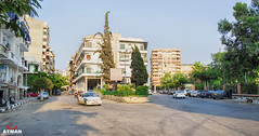 (Ayman Abu Elhussin) Tags: street old trees building art history tourism public beautiful car architecture garden square photography town photo cityscape colours view outdoor album egypt calm arabic midtown flats portsaid arab   ayman                        aymanabuelhussin orabist