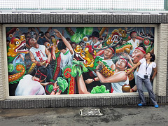 Bmacau_drunkendragon_TLStum (Tracy Lee Stum) Tags: china streetart animals hongkong mural dragon lotus grandprix illusion macau stpaulscathedral dragonboat giantpanda liondance bao tracyleestum culturalexchange 3dstreetart team3d anamorphicart 3dartist 3dstreetpainting prpromotion drunkendragondance