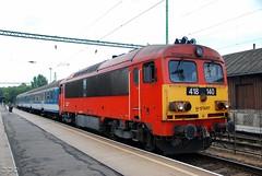M41.2140 (Tamás Tokai) Tags: start eisenbahn rail railway loco locomotive bahn railways lokomotive lok ganz máv ferrovie vonat vasút mozdony mávag