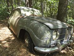 2015.06.26-15.02.00 (Pak T) Tags: abandoned car wagon automobile saab carlisle stroker saab95