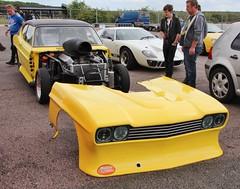 Ford Capri (2) (Nivek.Old.Gold) Tags: ford drag capri racer mk1