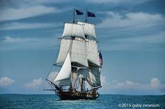US Brig Niagara (Gaby Swanson, Photographer) Tags: ship ships erie eriepa usbrigniagara