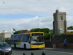 BT63UUV Webberbus , Bridgwater (neiljennings51) Tags: sea bus volvo somerset service 75 burnham psv pcv bridgwater mcv webberbus