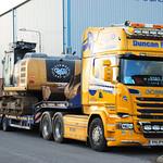 Scania R580 V8 agus CAT320E thumbnail
