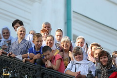 75. The blessing of water on the day of the Svyatogorsk icon of the Mother of God / Водосвятный молебен в день празднования Святогорской иконы Божией Матери