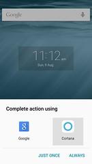 Cortana на Android