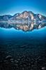 Spiegelung und Transparenz (art180) Tags: alpen art180 bayern berg fahrenbergkopf herzogstand landschaft panorama see walchensee wasser deutschland de hdr stille spiegelung reflektion lake bavaria alps wasseroberfläche tiefe transparenz durchsichtigkeit
