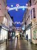 Street lights. (aitch tee) Tags: monmouth streetlights christmaslights