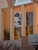 The Ecstasy of Plumbing (Steve Taylor (Photography)) Tags: plumbing drainage ecstasy art graffiti mural streetart building railing orange lady woman newzealand nz southisland canterbury christchurch city plant wow