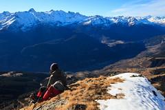 In Vetta (Roveclimb) Tags: mountain montagna alps alpi ticino svizzera suisse hiking escursionismo nara alpenara biasca poncionedinara vallediblenio acquarossa pianezza gariva pizzodinara leventina valleventina pausa sosta relax summit vetta meditation meditazione lanscape magicmoment sightseen