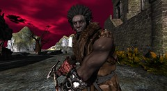 Mauhúr - Uruk Hai (Mac Rackham) Tags: pfc winter coat champion bracer fantasy orc uruk hai ugluk fairy fantasyworld second life sl roleplay medival hoard lotr aesthetic niramyth pucca firecaster