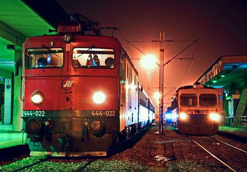 444-022 with 334 IT(Thessaloniki-Belgrade)