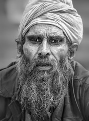 Street Portrait - The sad truth is that we're all missing someone... and hoping that wherever they are they're missing us back too. (Louay Henry) Tags: nikon nikond610 d610 streetphotography streetlife life streetcandid candid candidportrait streetportraiture streetportrait portrait portraiture face man urban closeup beard eyes human homeless india strangers character blackandwhite blackwhite monochrome people person mustache lonely tough toughtimes pain tamron70200mmvc tamronsp70200mmf28vcusd tamron