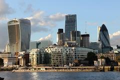 City of London (R.K.C. Photography) Tags: london city sky skyline canoneos100d riverthames gherkin leadenhallbuilding tower42 20fenchurchstreet walkietalkie england unitedkingdom uk