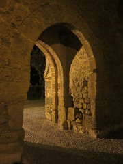 Gateway at night, Alcázar del Rey Don Pedro, Carmona, Spain (Paul McClure DC) Tags: carmona spain andalusia dec2016 españa andalucía hotel parador castle moorish historic architecture