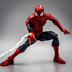 Go Spidey, Go (Vimlossus) Tags: legends toyphotography action acba toy marvel spiderman figure