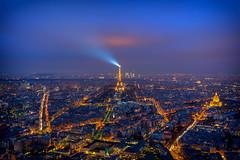 Paris (michael.br0ss) Tags: eiffelturm nacht outdoor paris stadt tourmontparnasse urlaub