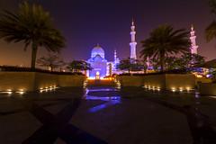 Sheik Zayed Mosque 2 (Donald E. Curtis) Tags: grand mosque abu dhabi sheik zayed beautiful