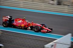 Formula one - Ferrari (joabfrancis) Tags: nikond5100 nikon formula1 grandprix abudhabi2015 formulaone abudhabi ferrari ferrarisf15t kimiraikkonen