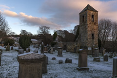 Penicuik Snow Midlothian At Sunset (Colin Myers Photography) Tags: penicuik snow midlothian at sunset penicuiksnow midlothiansnow scotland scottish old church ruin colinmyersphotography colin myers photography