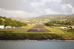 071/105 27-12-2016 Castries City, St. Lucia (Mark Hewson) Tags: castries lucia celebrity equinox caribbean runway