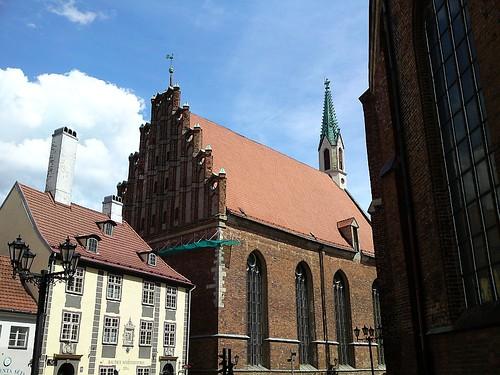 St. Johannis: Backsteingotik
