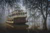 The Old Spirit of Sacramento (Foto_therapy) Tags: spiritofsacramento boat sacramento landscape fog mystical