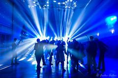 Dancing in the night (anton_frolov) Tags: bright blue disco lights dancefloor lightbeams beam people students tomsk russia sony a65 tsu university