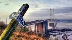 The Old Servern Bridge (AreKev) Tags: publicfootpath public footpath sign severnbridge severn bridge m48 motorway aust bristolchannel severnestuary riversevern southgloucestershire england uk sonyxperiaz3 sony xperia z3 mobilephone mobile phone