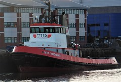 MTS Viscount - Port of Blyth (Gilli8888) Tags: port blyth portofblyth harbour northumberland coast ship vessel boat maritime cambois mts tug tugboat mtsviscount viscount red workingboats marine