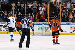 "Missouri Mavericks vs. Wichita Thunder, February 3, 2017, Silverstein Eye Centers Arena, Independence, Missouri.  Photo: John Howe / Howe Creative Photography • <a style=""font-size:0.8em;"" href=""http://www.flickr.com/photos/134016632@N02/32561324142/"" target=""_blank"">View on Flickr</a>"