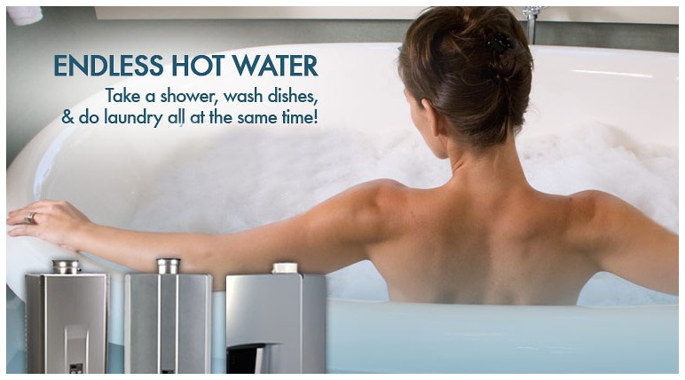 Endless Hot Water