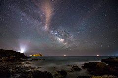 Milky Way on the Beach